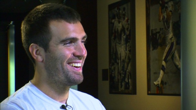 Ravens QB Joe Flacco on raising a family