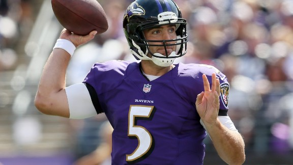 Now in the last season of a three-year, $66.4 million ($44 million guaranteed) deal with the Baltimore Ravens, the 2013 Super Bowl MVP may struggle to get another large NFL payout. The 33-year-old, known for his poise and arm strength, has not led Baltimore to the playoffs since 2014 -- leading the team to draft exciting Louisville QB Lamar Jackson in the first round. Don't cry for Flacco, however: His previous deal spanned six years for $120 million.