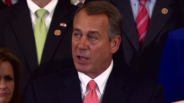 Boehner: People don't want Obamacare