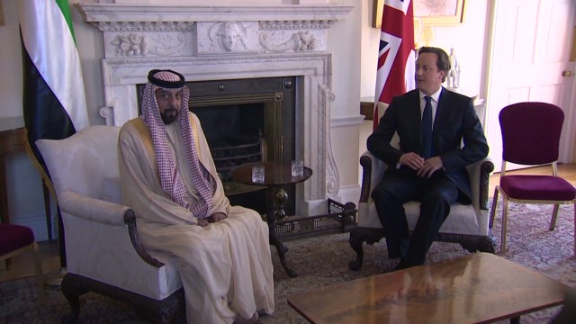 UK investment in the Middle East