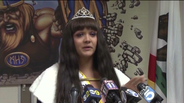 Transgender homecoming queen crowned