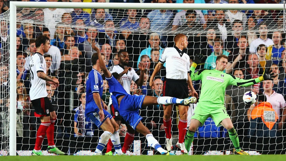 John Obi Mikel capped his return to the starting lineup with the second goal -- his first in the league for the club since signing in 2006 -- as Chelsea battled to a 2-0 home win.