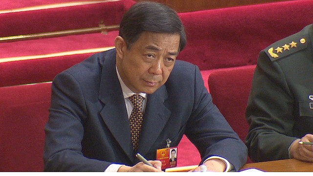 The downfall of Bo Xilai