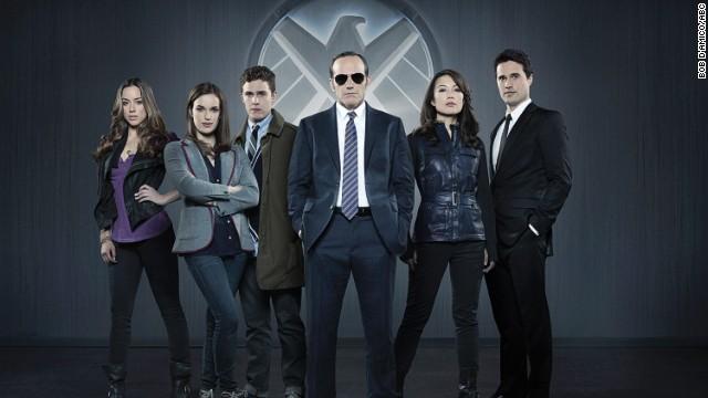 Die Originalbesetzung von 'Marvels Agenten von SHIELD'.