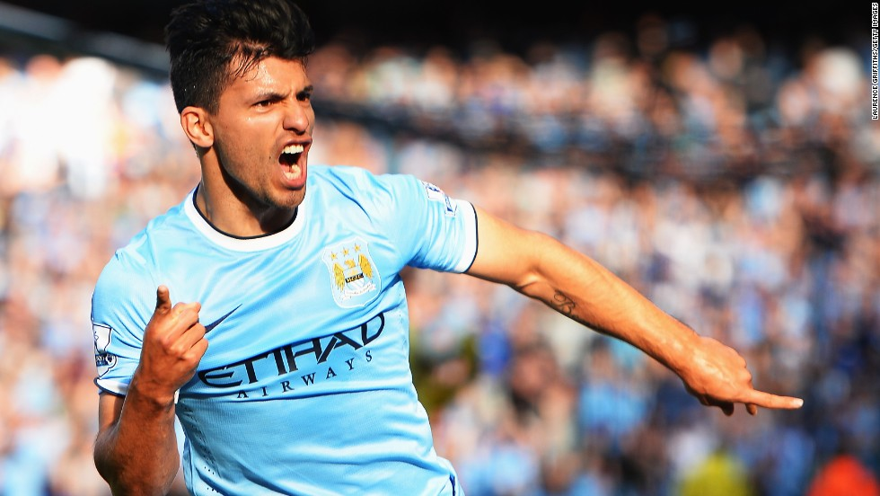"Sergio Aguero's stoppage-time goal in a 3-2 win against Queens Park Rangers ensured Manchester City won the 2011-2012 English Premier League title. ""We were champions for 30 seconds,"" writes Ferguson. ""When our whistle blew -- against Sunderland -- we were champions. In fairness to our players, they knew they had ballsed it up. There were no excuses."""