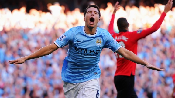 Nasri was criticized for his performance during City