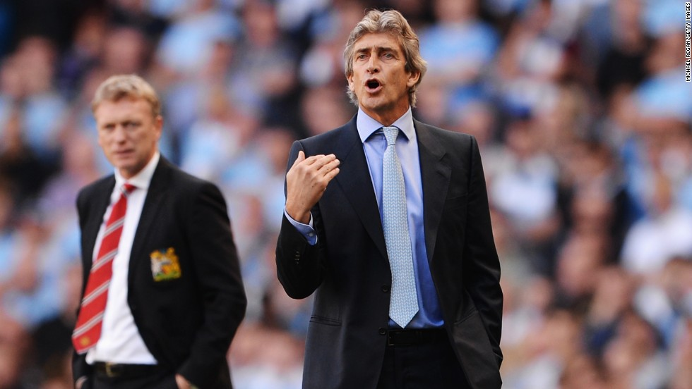 City boss Manuel Pellegrini came out on top in the battle of the Manchester derby debutants, as United manager David Moyes tasted defeat.