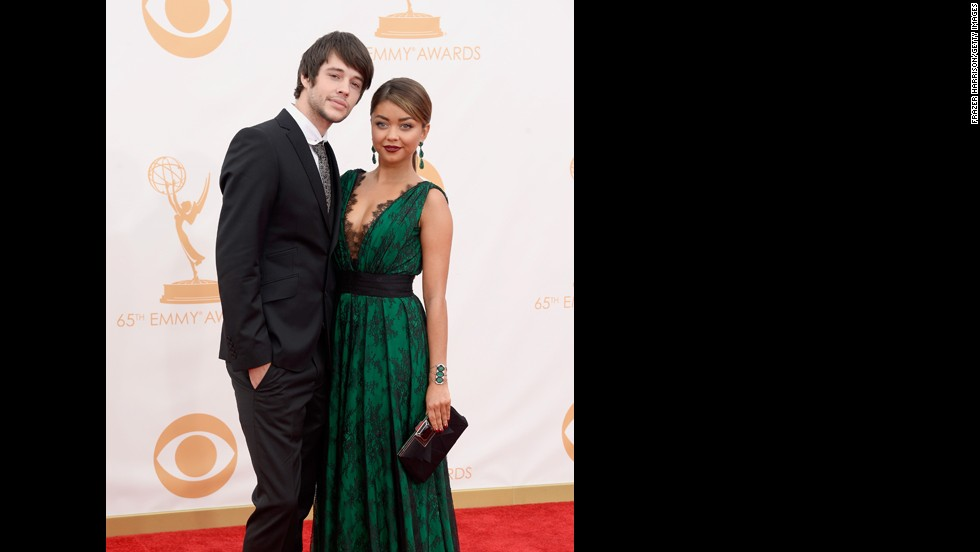 "Matt Prokop and ""Modern Family"" star Sarah Hyland"