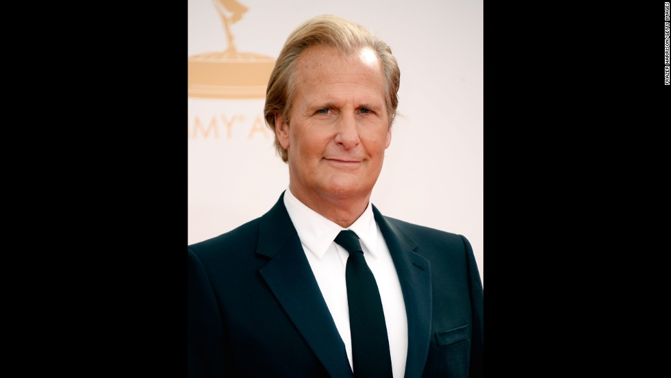 "Jeff Daniels, winner of outstanding lead actor in a drama series for ""The Newsroom,"" appeared shocked to win. ""Well crap ... didn't expect this,"" Daniels said as he accepted the Emmy for his role as anchor Will McAvoy."