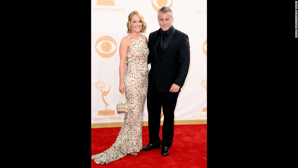 """Episodes"" star Matt LeBlanc and girlfriend Andrea Anders"