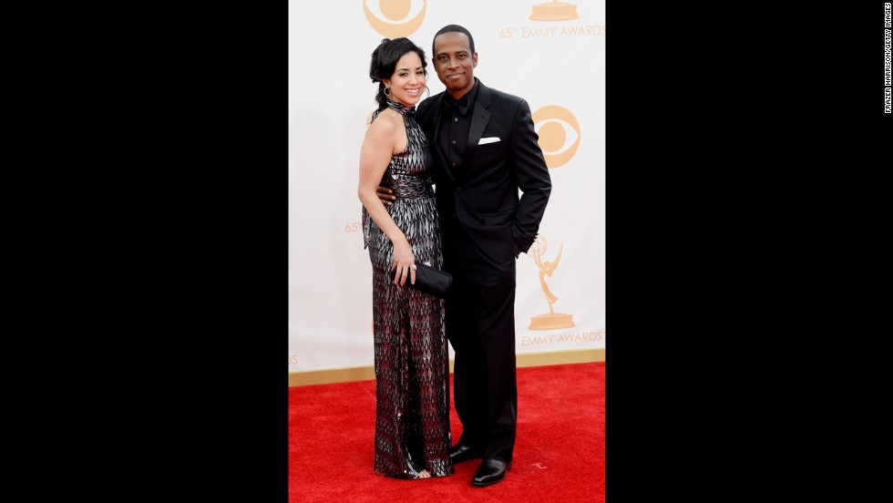 """30 Rock's"" Keith Powell and fiancée Jill Knox"