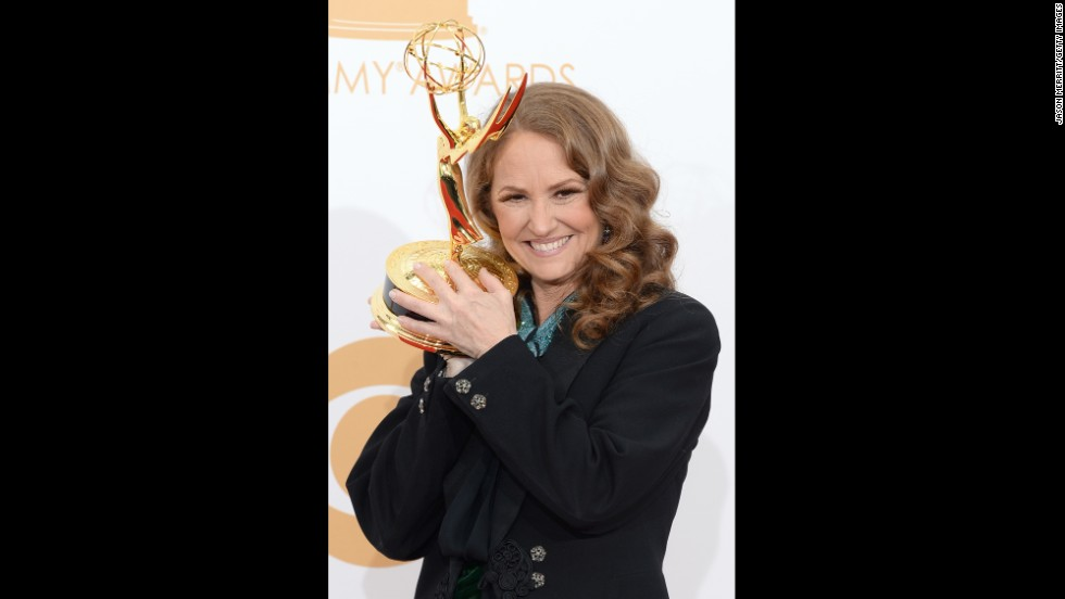 "Outstanding guest actress in a comedy series: Melissa Leo, ""Louie"""