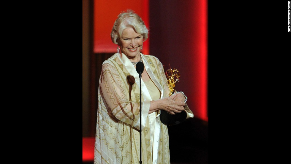 "Outstanding supporting actress in a miniseries or movie: Ellen Burstyn, ""Political Animals"""
