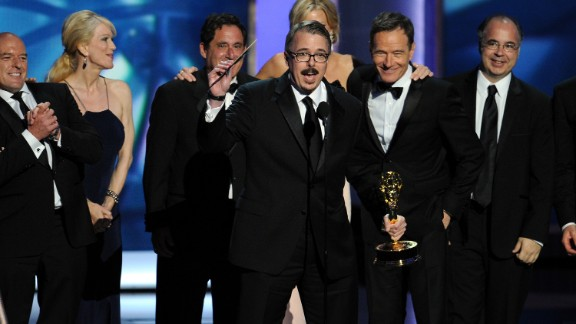 "Outstanding drama series: ""Breaking Bad"""