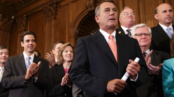 Speaker John Boehner, R-Ohio -- The coach. He