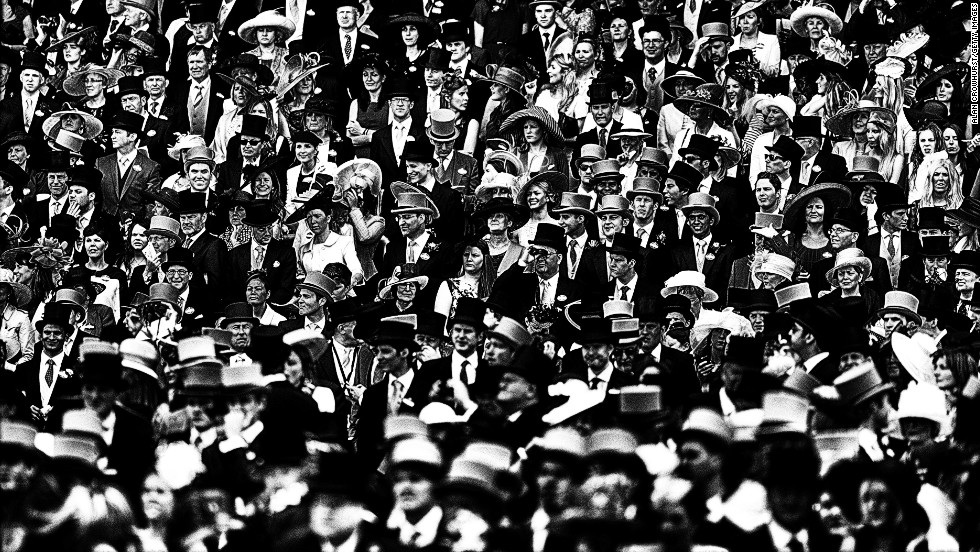 "<strong>Royal Ascot, Ascot, Berkshire, UK:</strong> ""I like Royal Ascot a lot because there are so many people and so many things to see. It's like shooting fish in a barrel,"" says Crowhurst."