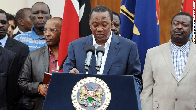 Kenya's President Uhuru Kenyatta said the new law defines various types of marriages.