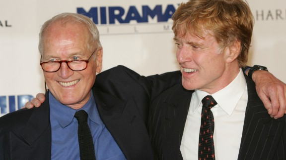 "The film ""Butch Cassidy and the Sundance Kid"" was one of the highlights of a beautiful friendship between Robert Redford (right) and the late Paul Newman. They worked together again in ""The Sting."" When Newman died in 2008, Redford spoke at length about their relationship, praising Newman's social responsibility and his sense of fun."