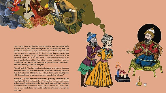 Fans of Shakespeare may find the tale of Bizhan and Manizheh familiar. The story depicts star crossed lovers from warring families.