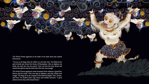 Despite its age, the Shahnameh has remained a touchstone of the Iranian psyche. Many children are still read to sleep with the ancient verses.