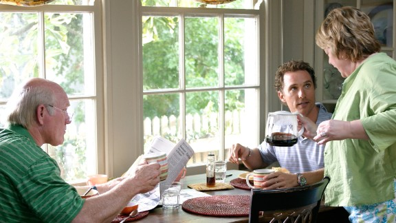 """2006's """"Failure to Launch"""" features a comfy son (played by Matthew McConaughey) who doesn't see a reason to leave home. His parents, played by Terry Bradshaw and Kathy Bates, hire a professional, Sarah Jessica Parker, to lure him from the nest."""