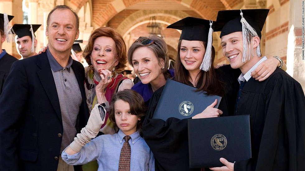 "After college, a ""Post Grad"" played by Alexis Bledel struggles to find her footing and must move back in with her parents, played by Michael Keaton and Jane Lynch."