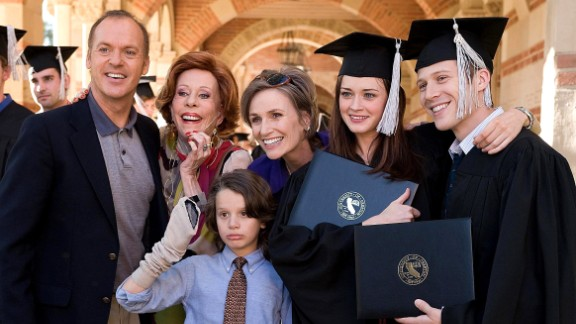 """After college, a """"Post Grad"""" played by Alexis Bledel struggles to find her footing and must move back in with her parents, played by Michael Keaton and Jane Lynch."""