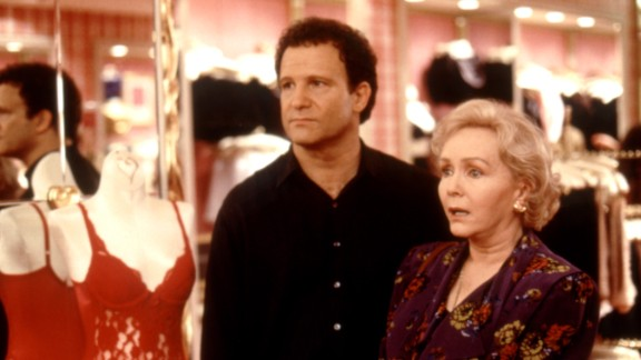 """In """"Mother,"""" Albert Brooks moves in with his mom, Debbie Reynolds, in order to figure out what mommy issues are causing his relationships to tank."""
