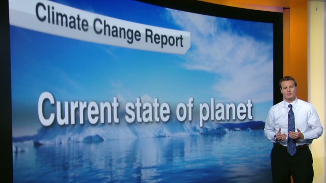 What will be in climate change report?