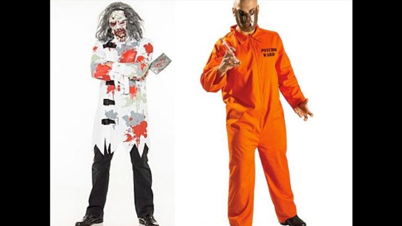 "British retailers have removed ""mental patient"" and ""psycho ward"" Halloween costumes from their online stores. Schizophrenia isn"