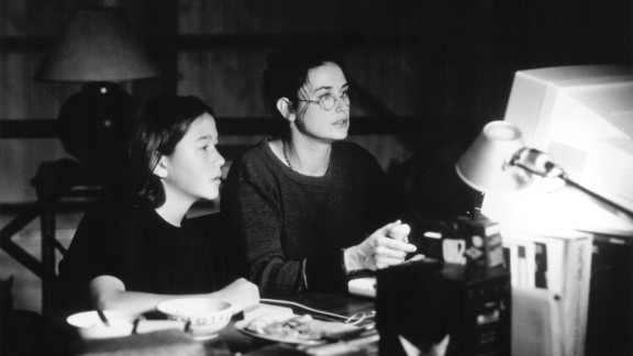 """James Gandolfini wasn't the only one building his film resume with 1996's """"The Juror."""" A then 15-year-old Gordon-Levitt also starred in the suspense drama as the son of Demi Moore's character, Annie."""