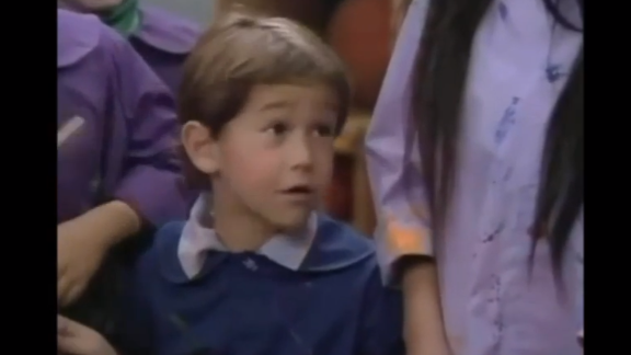 "Can you say ""awwww""? At the tender age of 7, JGL picked up a role on the classic NBC sitcom, ""Family Ties,"" as Dougie. He was only on the series for two episodes, but clearly the kid was going places."