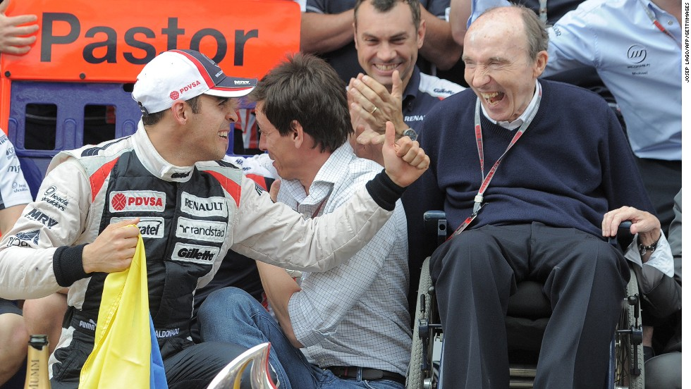 Maldonado says interest and expectation grew in Venezuela after he stormed to victory in the 2012 Spanish Grand Prix for Williams. It was the team's first win since 2004 and the first ever victory in F1 for a Venezuelan racer.