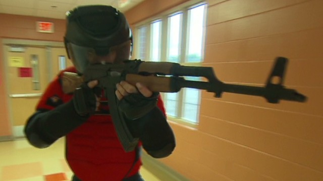 Teachers learn how to fight attackers