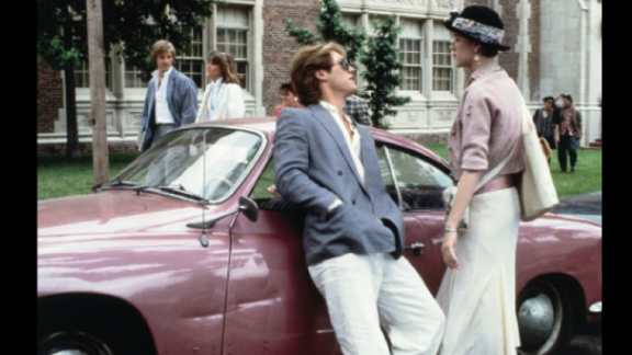 """James Spader played the classic rich slimeball Steff opposite Molly Ringwald in """"Pretty in Pink."""""""
