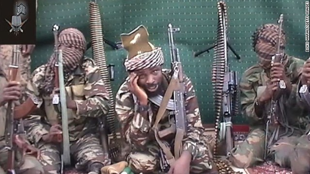 A screengrab taken on September 25, 2013 shows a man claiming to be the leader of Nigerian Islamist extremist group Boko Haram, Abubakar Shekau.