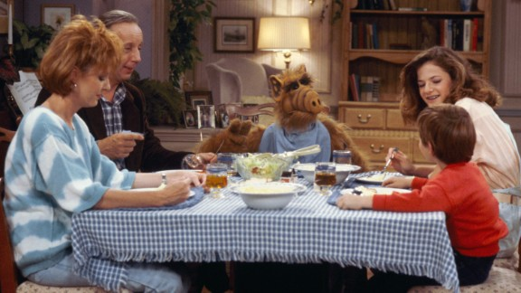 """ALF"" producers seemed to be overly confident that the alien sitcom would return for a fifth season, after they had ALF captured by the military in the finale, just before NBC canceled it. We wouldn"