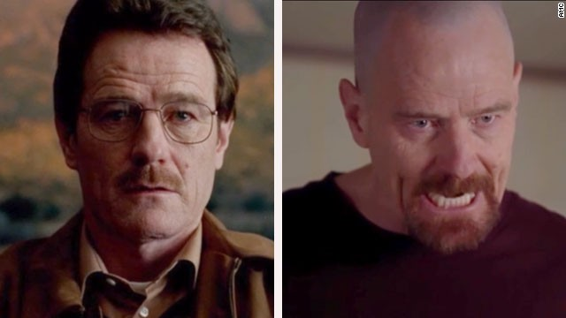 The evolution of Walter White