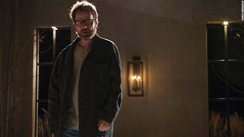 Walter White confronts Elliott and Gretchen Schwartz in the series' final episode.