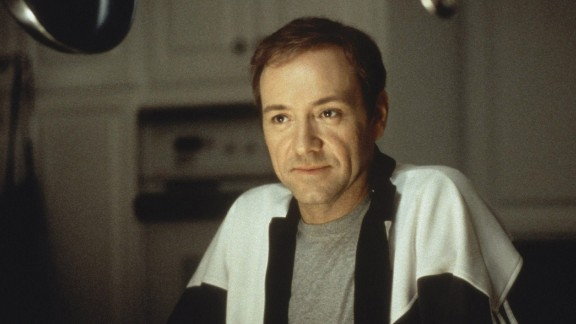 """The death of Kevin Spacey's character, Lester Burnham, in the 1999 movie """"American Beauty"""" is accompanied by poignant words at the end of the film."""