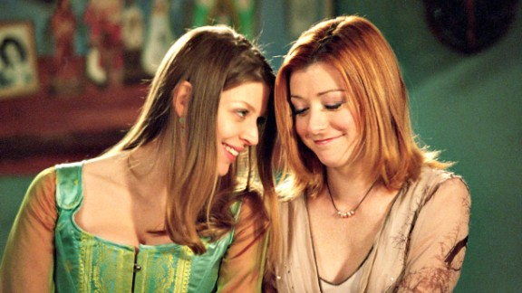 "Tara Maclay (Amber Benson) and Willow Rosenberg (Alyson Hannigan) were a happy couple on ""Buffy the Vampire Slayer"" until a bullet felled Tara, which led to much outrage from fans. (But what else is new?)"