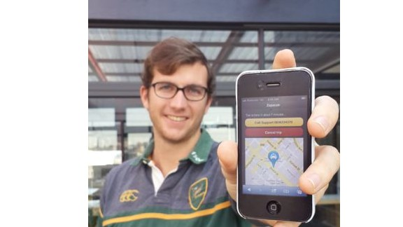 Increased smartphone penetration could lead to more African smartphone apps, such as South African Zapacab, which lets users locate taxi drivers and order a cab at the touch of a button.