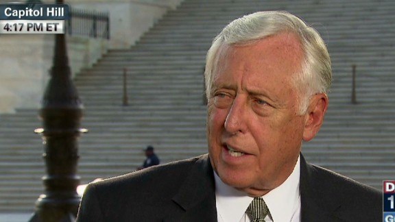 exp lead intv Rep Steny Hoyer Obamacare government shutdown_00010527.jpg