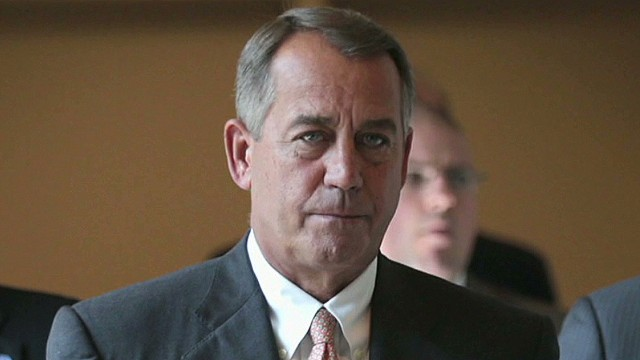 House Speaker John Boehner, then and now