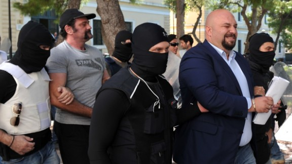Golden Dawn leaders arrested. Greece. S027901785