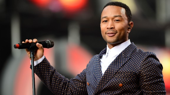 """U.S. singer John Legend performs on stage at the """"Chime For Change: The Sound Of Change Live"""" concert on June 1, 2013 in London, England. At a press conference prior to his performance, he said: """"All men should be feminists. If men care about women's rights the world will be a better place."""""""