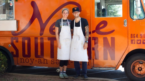 Healthy young people, such as the owners of the Neue Southern Food Truck, are being encouraged to get insurance.