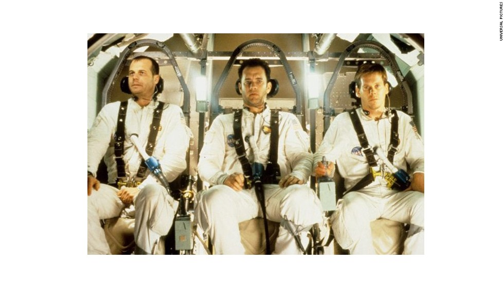 "Worried about NASA? Check out 1995's ""Apollo 13"" starring Bill Paxton, Tom Hanks and Kevin Bacon."
