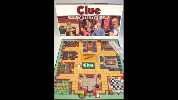 The board game Clue was also among the finalists announced in October.