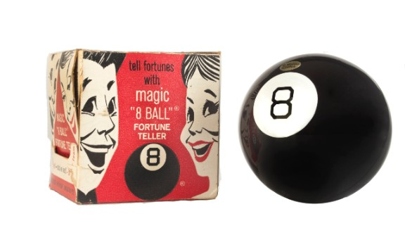 """The Magic 8 ball claims to have the answers to all of life's questions. But will it be inducted into the Toy Hall of Fame in 2013? """"My reply is no."""""""